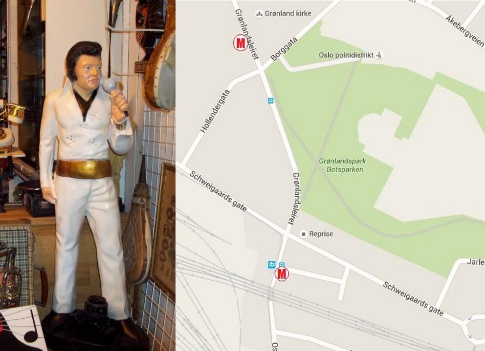 To av Oslos beste bruktbutikker. Gjenstander kan reserveres over telefon.